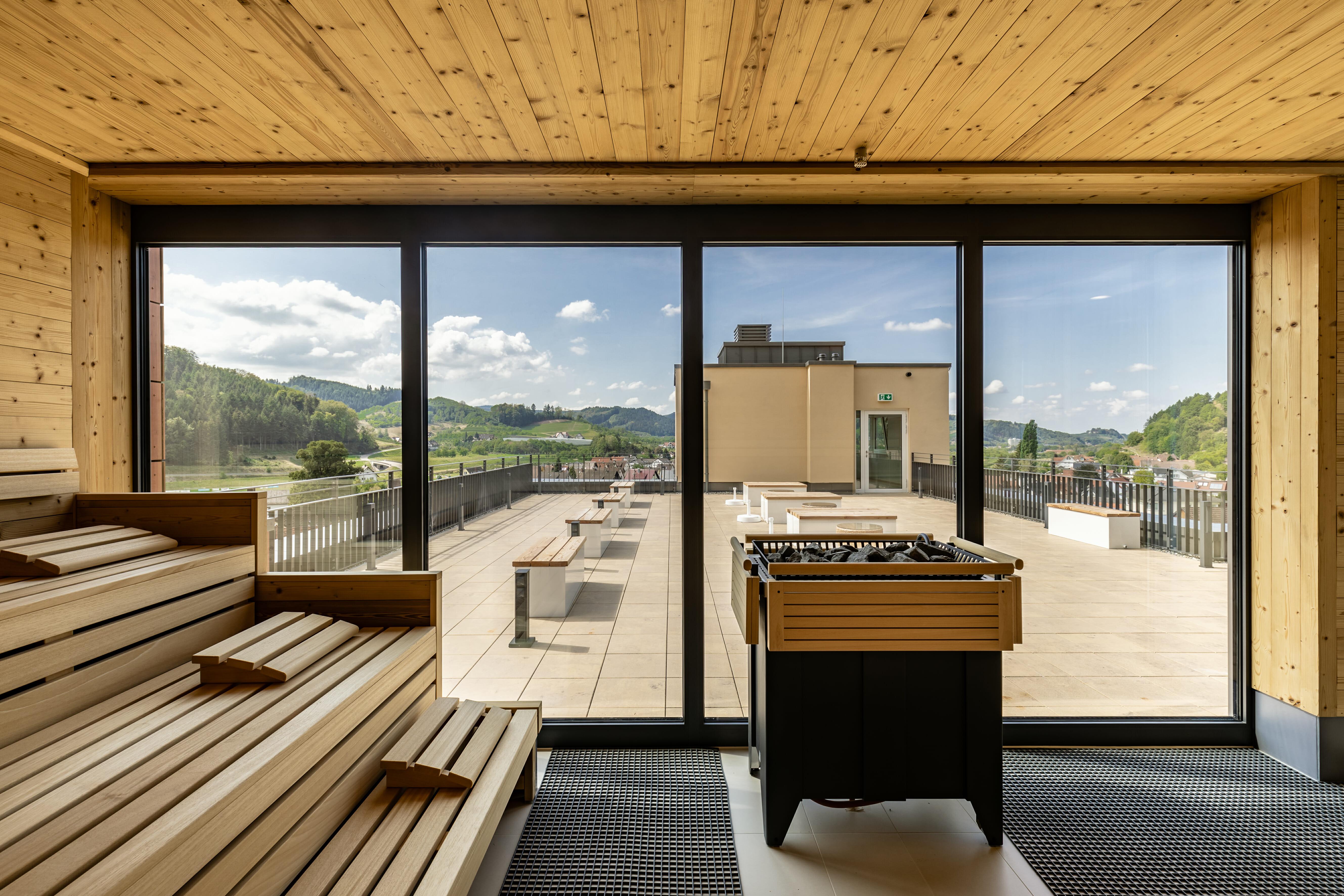 Saunas & salt rooms